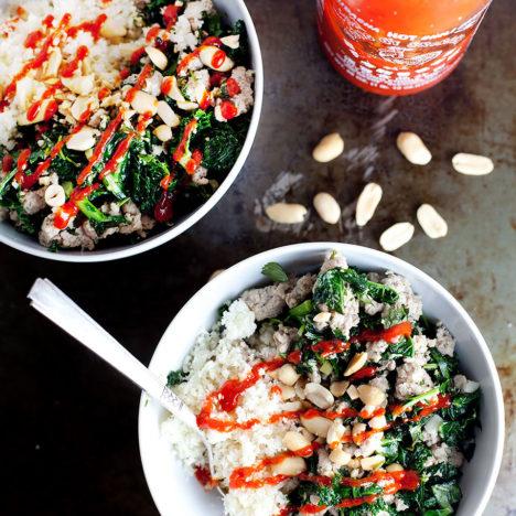 Garlic Ginger Kale Bowl | Loveleaf Co. | loveleafco.com
