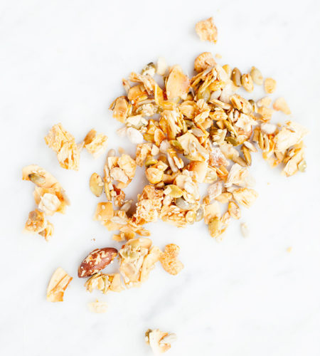 Turmeric Mango Smoothie Bowls with Granola | Paleo, Vegan, Gluten-Free. | Loveleaf Co.