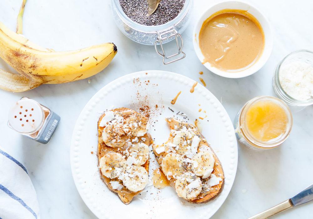 Simple Sweet Potato Toast Ideas