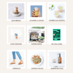 Images of July health and wellness favorites by Loveleaf Co.