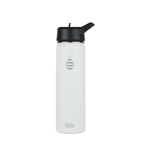 White water bottle.