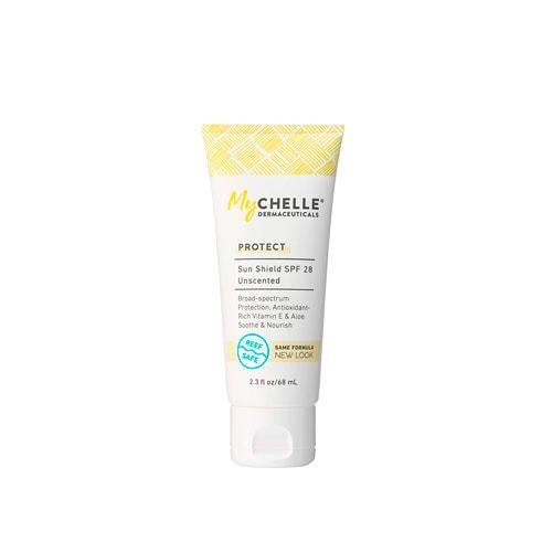 Mychelle face sunscreen.