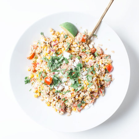 Healthy Street Corn Salad